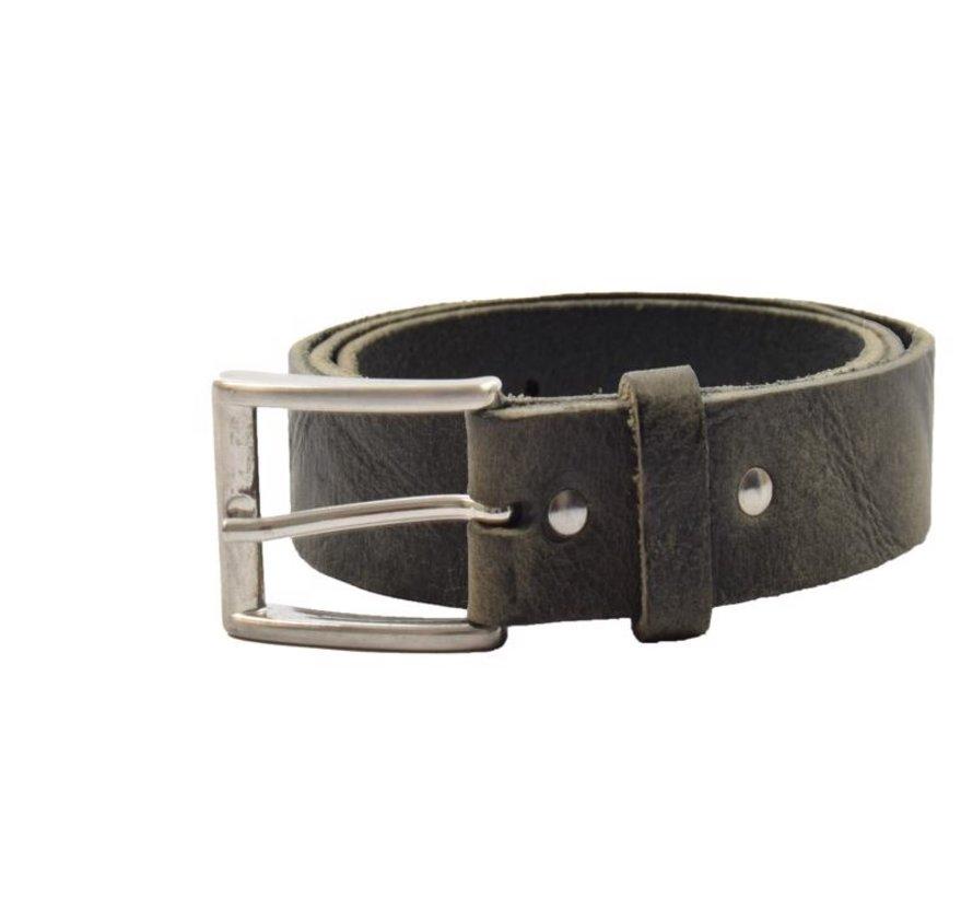 Belt 85 cm color Black / Green, it is 3 cm wide - Belts Men - Belts Women - Beautiful Belts