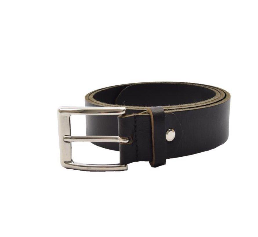 Belt 105 cm color Black,  it is 3 cm wide - Belts Men - Belts Women - Beautiful Belts