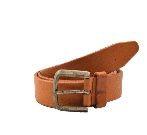 Discountershop Belt 105 cm Caramel Color, it is 3 cm wide - Belts Men - Belts Ladies - Beautiful Belts