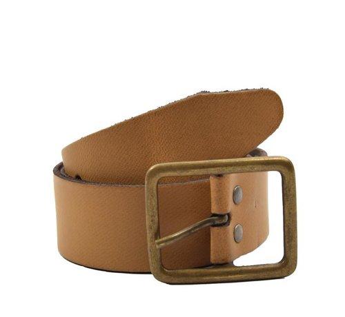 Discountershop Belt 75 Geel/Oranje, It is 3 cm Wide - Belts - Belts Men -Belts Women