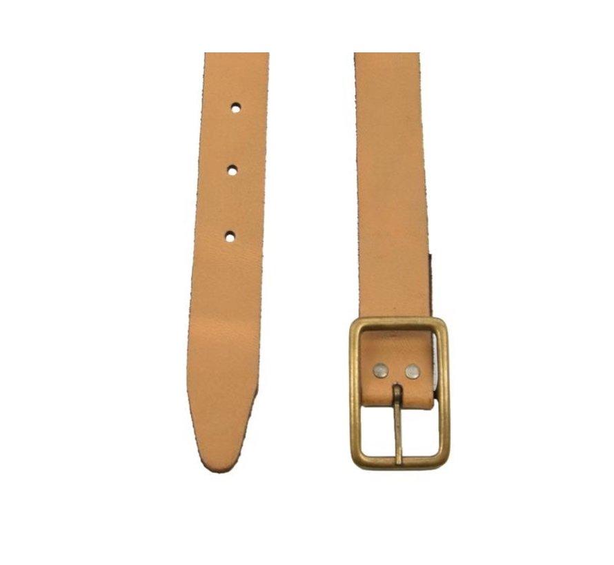 Riem 75 cm kleur Geel/Oranje, hij is 3 cm breed - Riemen Heren - Riemen Dames- Mooie Riemen