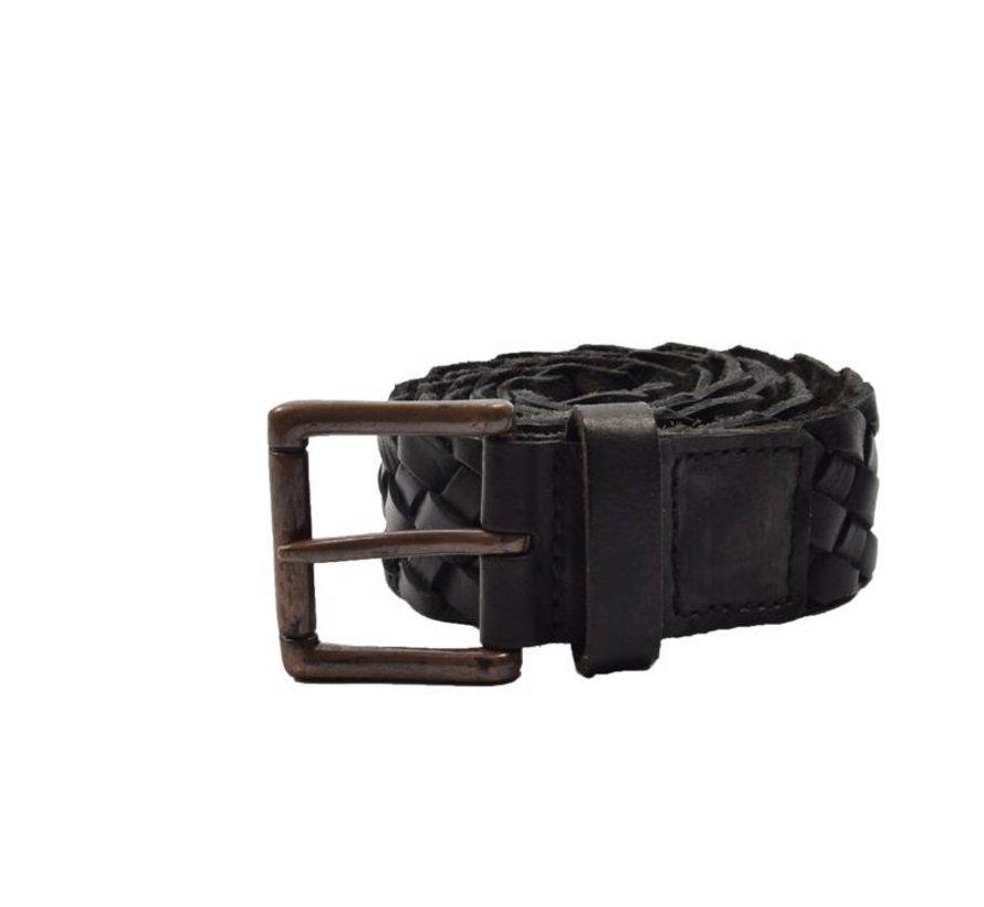 Belt 105cm color Black, it is 4 cm wide - Belts Men - Belts Ladies- Beautiful Belts