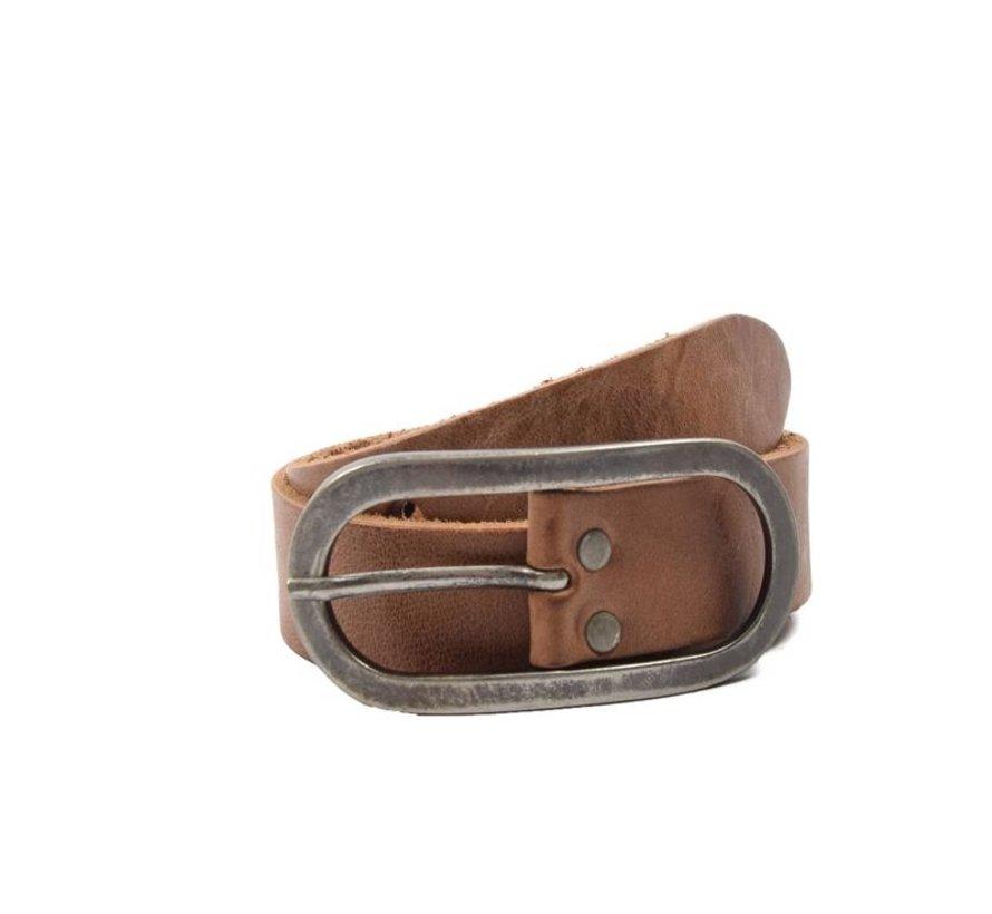 Children's Belt 65 cm color Brown, it is 3 cm wide - Belts Men - Belts Ladies - Beautiful Belts