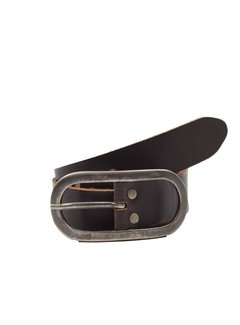 Discountershop Children's Belt 65 cm color Black, it is 3 cm wide - Belts Men - Belts Ladies - Beautiful Belts