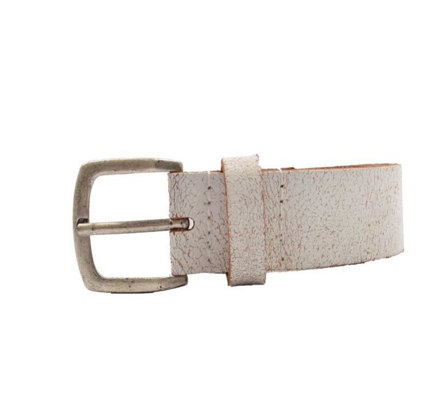 Belt 95 cm color White, it is 3 cm wide - Belts Men - Belts Ladies - Beautiful Belts