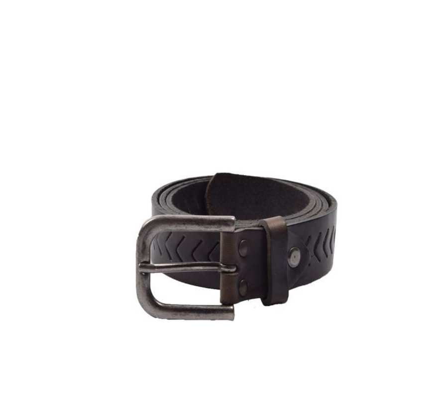 Belt 85 cm color Black, it is 3 cm wide - Belts Men - Belts Ladies - Beautiful Belts