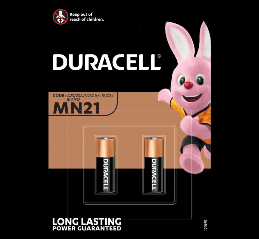 Duracell 4 stuks BATTERIJ MN21/A23 - 12 V Long lasting - Langdurig 4 stuks