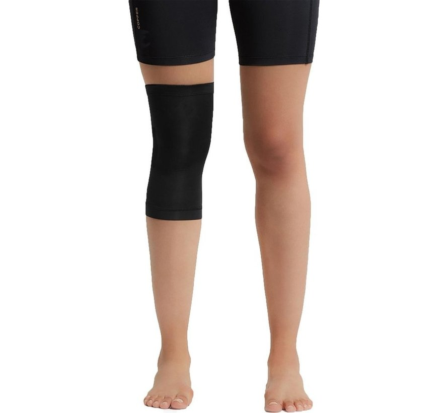 2 X Copper Knee Support (1 Pair) Copper Support Copper Infused High Quality Breathable Design Provides Comfortable And Durable Joint Support - All Lifestyles - Size M - Size M
