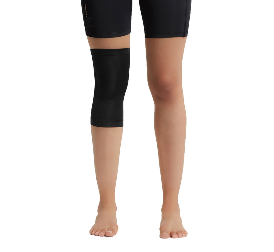 2 X Copper Knee Support (1 Pair) Copper Support Copper Infused High Quality Breathable Design Provides Comfortable And Durable Joint Support - All Lifestyles - Size XL - Size XL
