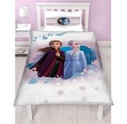 Disney Frozen Frozen Disney Dekbedovertrek - Disney Frozen Dekbedovertrek Forest - Eenpersoons - 140 x 200 cm - Polyester