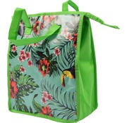 Discountershop Fresh & Cold cool bag - cool bag  beach  Cool box   ladies 8 liter polyethylene Green