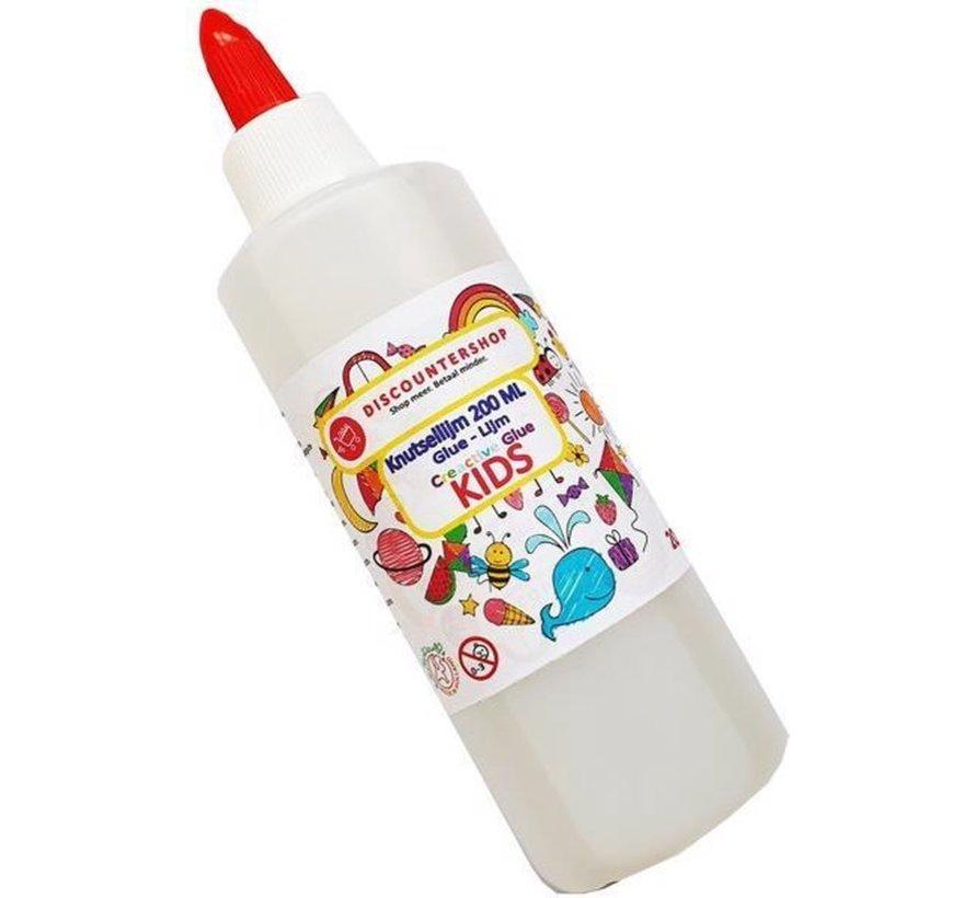 Knutsellijm 600ml - Lijm - All purpose glue  Kinderlijm  Goedkope knutsellijm Doorzichtige knutsellijm 600 ml - Lijm