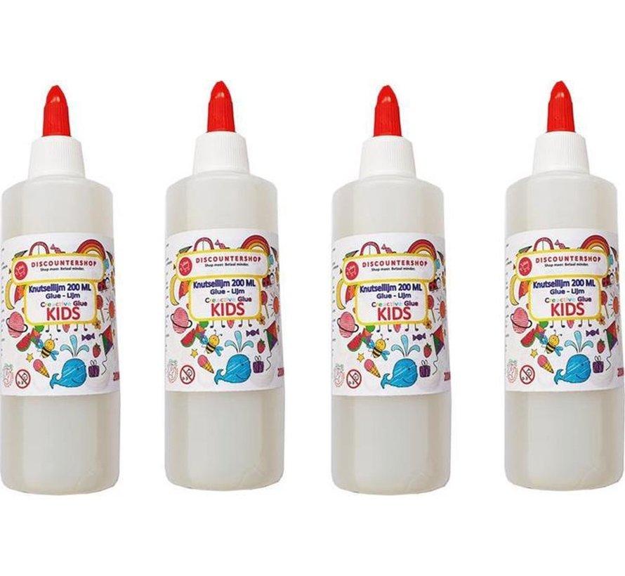 Knutsellijm 800ml - Lijm - All purpose glue Kinderlijm - Knutselen - Goedkope knutsellijm  Doorzichtige knutsellijm -