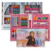 Disney Frozen Frozen Disney coloring case more than 100 pieces - Frozen Elsa and Anna Color case - Frozen - Frozen coloring pencils