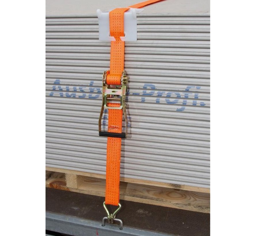 2 pieces Tensioning strap - tensioning straps - tensioning straps - tensioning strap with ratchet - loosening tensioning strap - tensioning strap reel - tensioning strap 5 m x 25 mm -