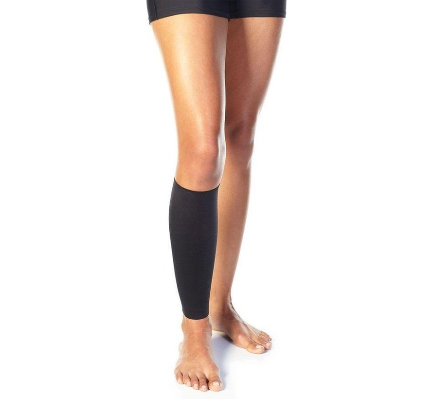 2 X Copper Calf Bandage (1 Pair) Copper Support Copper Infused High Quality Breathable Design Provides Comfortable And Durable Joint Support - All Lifestyles - Size XL - Size XL