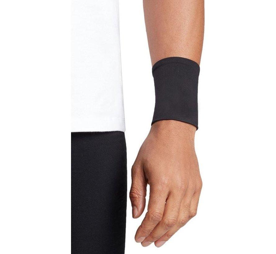 2 X Polssteun met koper ondersteuning - Compressie pols sleeve-koper geïnfundeerde polssteun voor mannen en vrouwen -circulatie en herstel verbeteren (1 paar) - Maat S - Size S