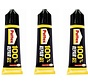 3 pieces Super glue 100% repair glue - super glue - Glue - Strong 100 % repair glue - Pattex glue - Pattex super glue