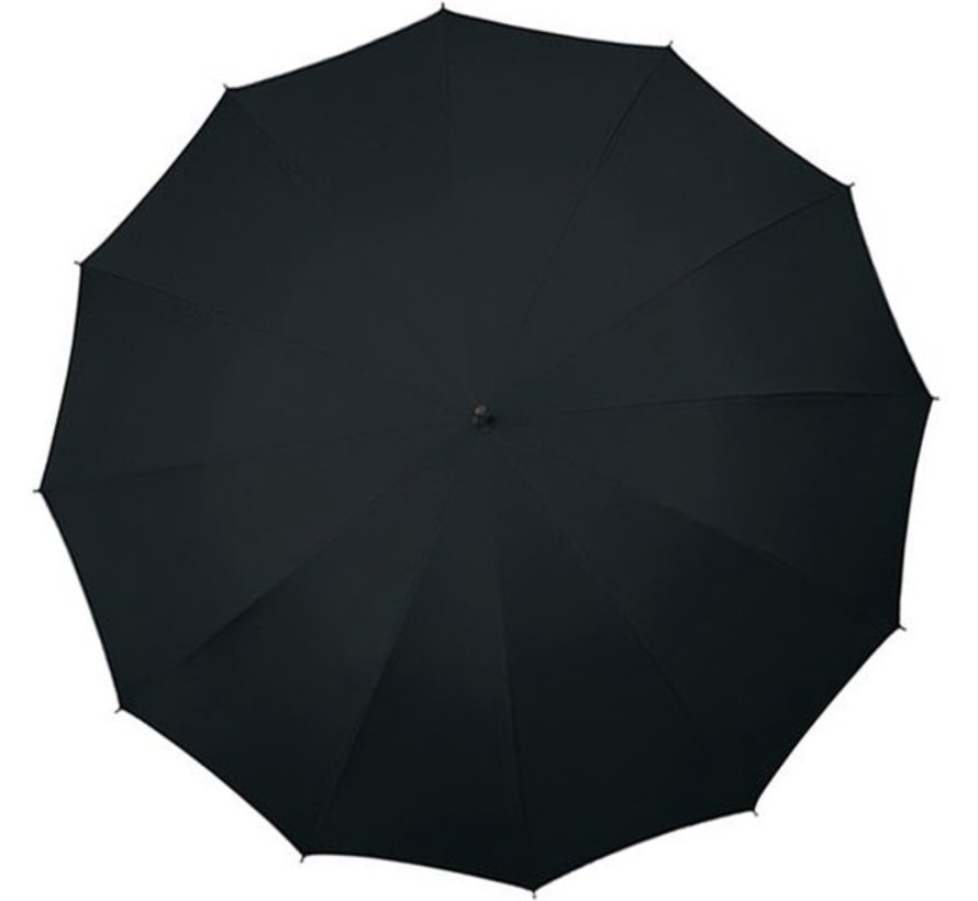 2x Umbrella - Automatic wind umbrella - Sturdy & Windproof - Windproof - Ø 110 cm - Black - Top Quality - Best quality