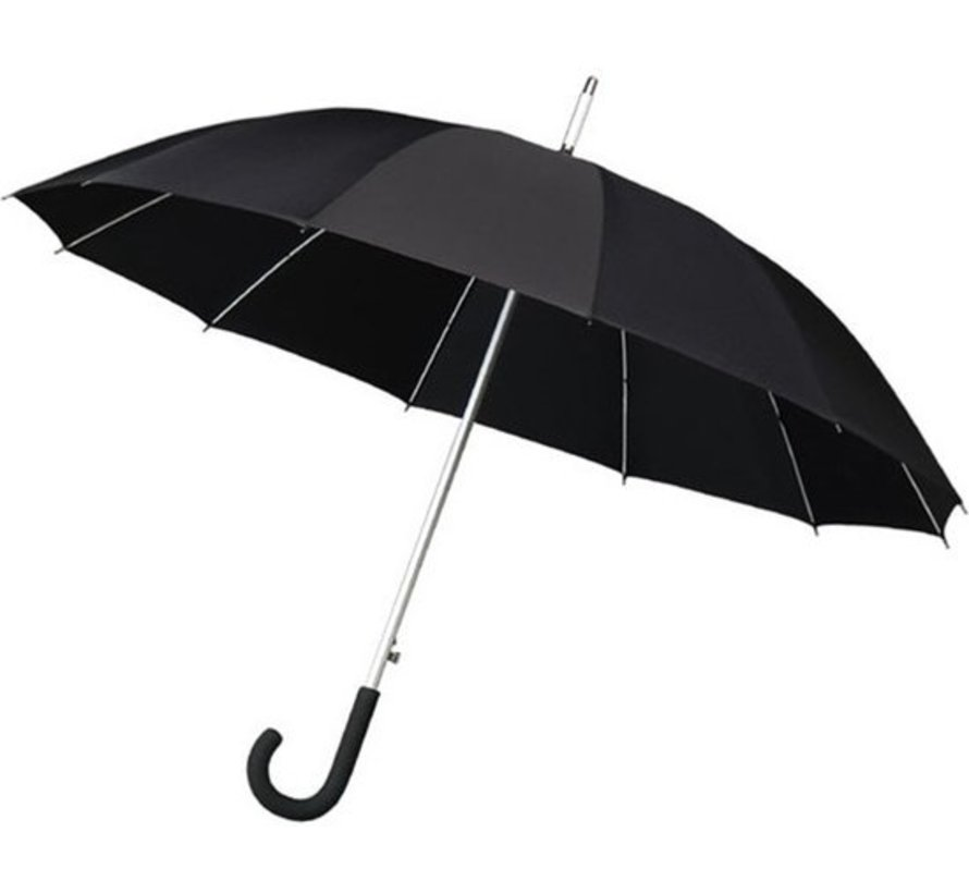 3 X Umbrella - Automatic wind umbrella - Sturdy & Windproof - Windproof - Ø 110 cm - Black - Top Quality - Perfect Quality