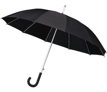 Merkloos Paraplu - Automatic windparaplu - Stevig & Windroof - Windproof - Ø 110 cm - Zwart- Top Kwaliteit - Perfecte Kwaliteit
