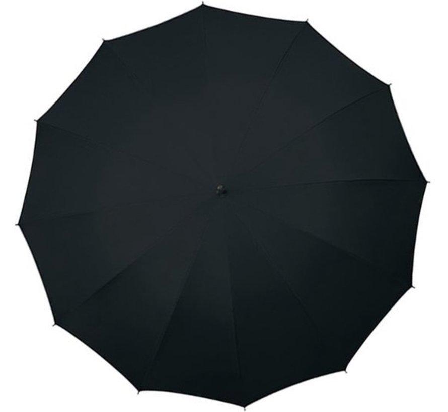 Paraplu - Automatic windparaplu - Stevig & Windroof - Windproof - Ø 110 cm - Zwart- Top Kwaliteit - Perfecte Kwaliteit
