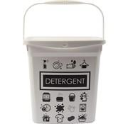 Merkloos Waspoeder box | EHBO-benodigdheden |multibox 6liter |Handig |reinigingsmiddel | 23x18x24,5cm 300g| was tabletten| Poedercontainer met hengsel | Topper!Waspoeder box | EHBO-benodigdheden |multibox 6liter |Handig |reinigingsmiddel | 23x18x24,5cm 300g| was t
