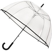 Merkloos Umbrella - Dome umbrella Transparent - Dome umbrella PVC Diameter 85 cm - automatic