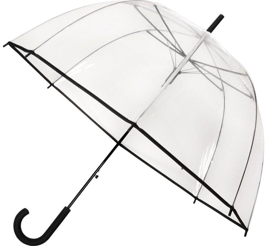Paraplu - Koepelparaplu Transparant - Koepelparaplu PVC Diameter 85 cm - automaat