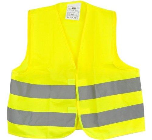 Merkloos Veiligheidsvest in mooi zak Geel| Veilig safety | Veiligheidshesje | Bouw | Verkeer | veiligheidsvest voor veiligheidsw