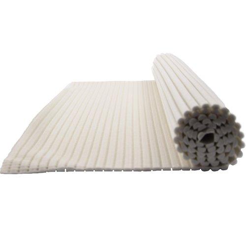 Merkloos Badmat - badmat - zachte schuimmat - badloper - antislip - Wit - 65x90cm onderlegger voor keuken, badkamer, hal, sauna