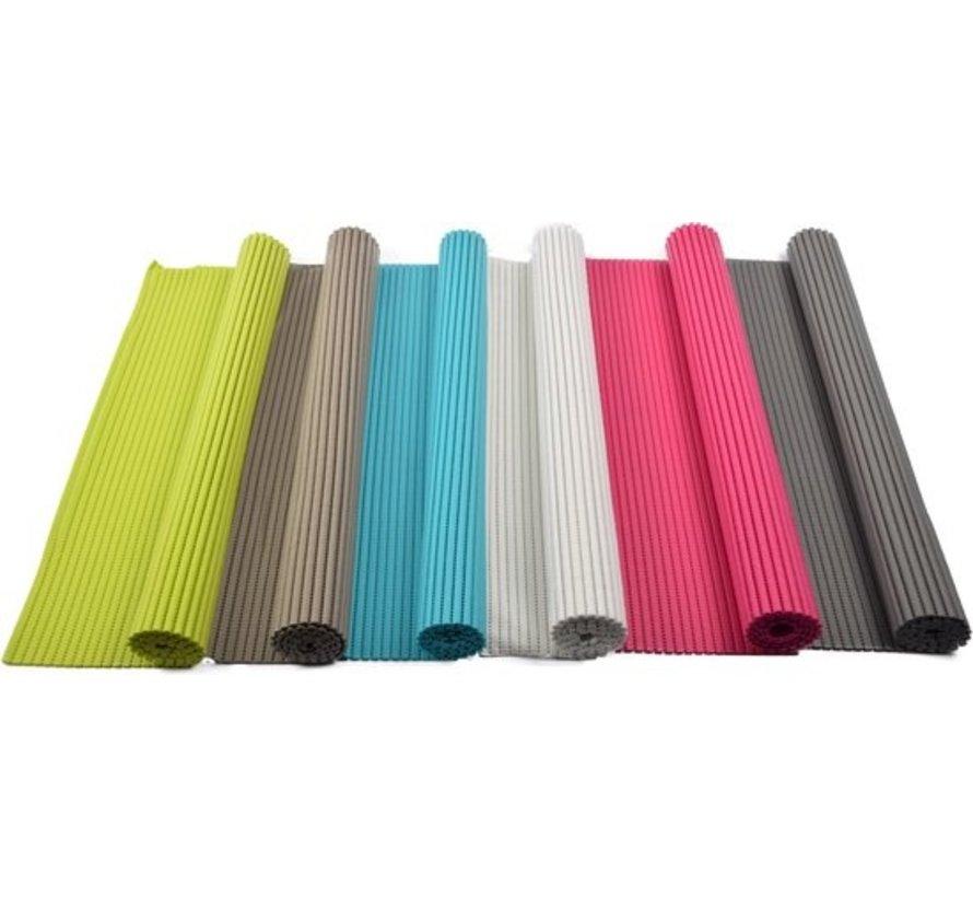 Bath mat - bath mat - soft foam mat - bath runner - non-slip - White - 65x90cm underlay for kitchen, bathroom, hall, sauna or terrace