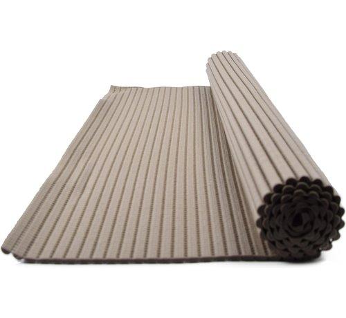 Merkloos Bath mat - bath mat - soft foam mat - bath runner - non-slip - grey, 56x90cm underlay for kitchen, bathroom, hall, sauna or terrace
