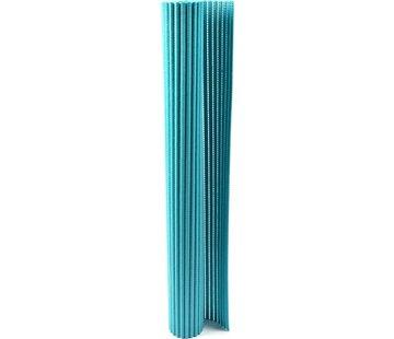 Merkloos Badmat - badmat - zachte schuimmat - badloper - antislip - Blauw 65x90cm onderlegger voor keuken, badkamer, hal, sauna of terras
