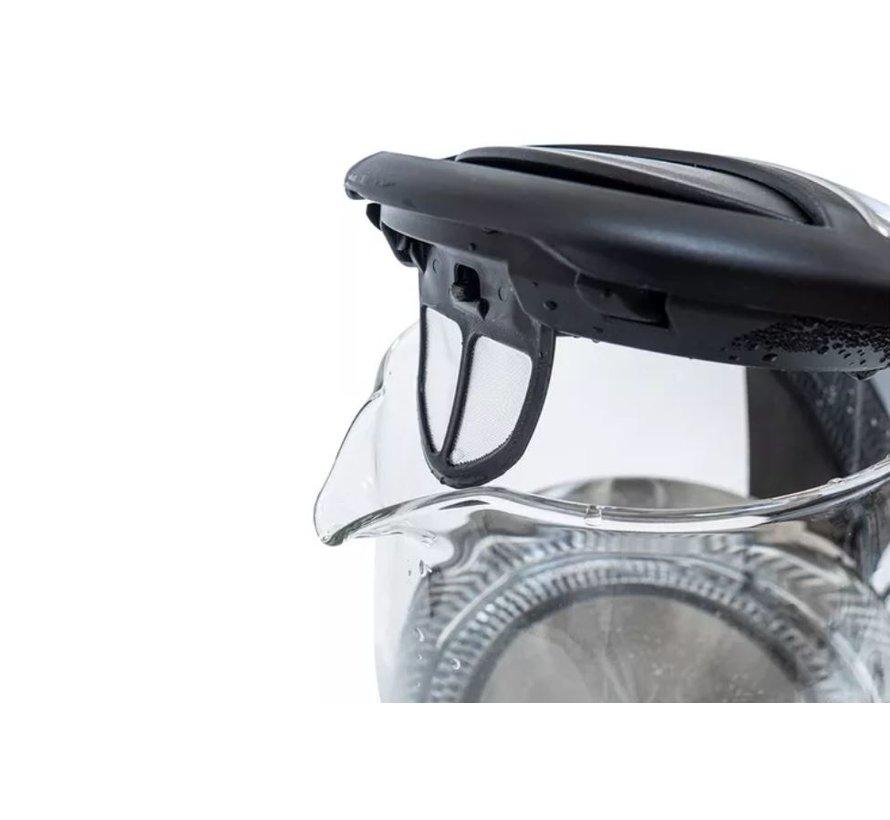 E&H waterkoker 1.7 - Glazen Waterkoker - 1.7 Liter