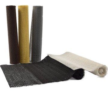 Merkloos 5x Multi kleuren Anti slip mat - Antislip mat op rol 45 x 100 cm | set van 5 stuks |