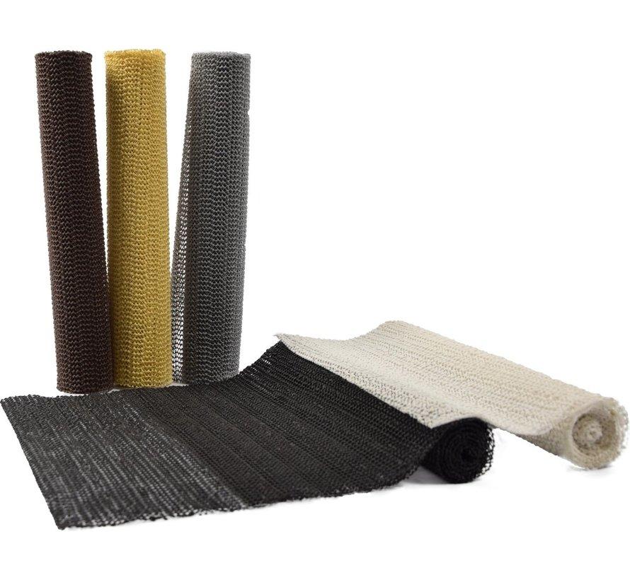 5x Multi colors Anti slip mat - Anti slip mat on roll 45 x 100 cm   set of 5  
