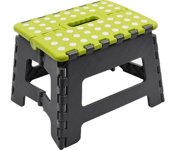Merkloos Collapsible stool | Step | Step stool | Kitchen stool | Stairs -Green |Stairs| Step Foldable | stool | Handy | Top!
