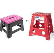 Merkloos Collapsible stool | Kitchen stool |Stool | Step stool | Stairs -Blue | Stairs| Step Foldable | stool | Handy | Top!     Product Description  Little kitchen prince or princess at home? With the handy folding stool from Discountershop everyone can reach the