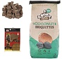 1x barbecue charcoal- 3kg - coconut briquettes + 28x firelighters Sustainable - high quality - coconut husks -