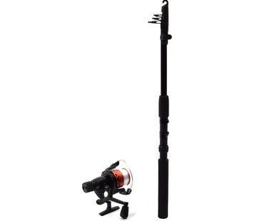 Merkloos Telescopic rod of 2.1 meters 7 Inch with medium action. Fishing rod Compact and lightweight