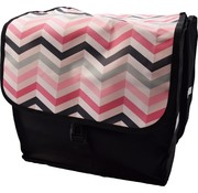 Bikebags Double Pannier waterproof with reflective stripes for extra safety - Pannier - Stripe colored - 2x 18 Liter