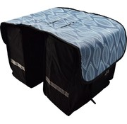 Bikebags Double Pannier waterproof with reflective stripes for extra safety - Pannier - Blue - 2x 18 Liter