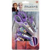Disney Frozen Frozen II scissors - scissors set frozen II - scissors frozen - Elsa scissors - Anna Scissors - 4 replaceable scissors