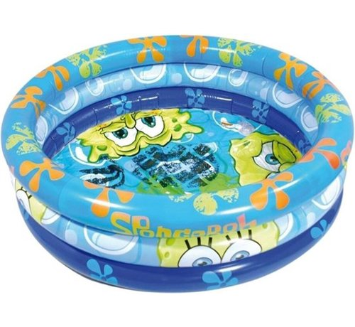 Spongebod Opblaasbare Zwembad - Rond - Spongebob - 100 cm - Opblaasbaar - Kinderbad - Tuin - Zomer