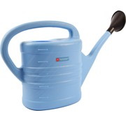 Merkloos Gieter met sproeikop Blauw 10 liter - Planten bewatering - Tuinartikelen/tuinieren - Moestuin/zwarte tuin/kruidentuin verzorging