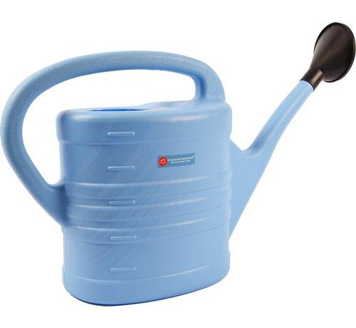 Merkloos Gieter met sproeikop Blauw 10 liter - Planten bewatering - Tuinartikelen/tuinieren - Moestuin/zwarte tuin/kruidentuin