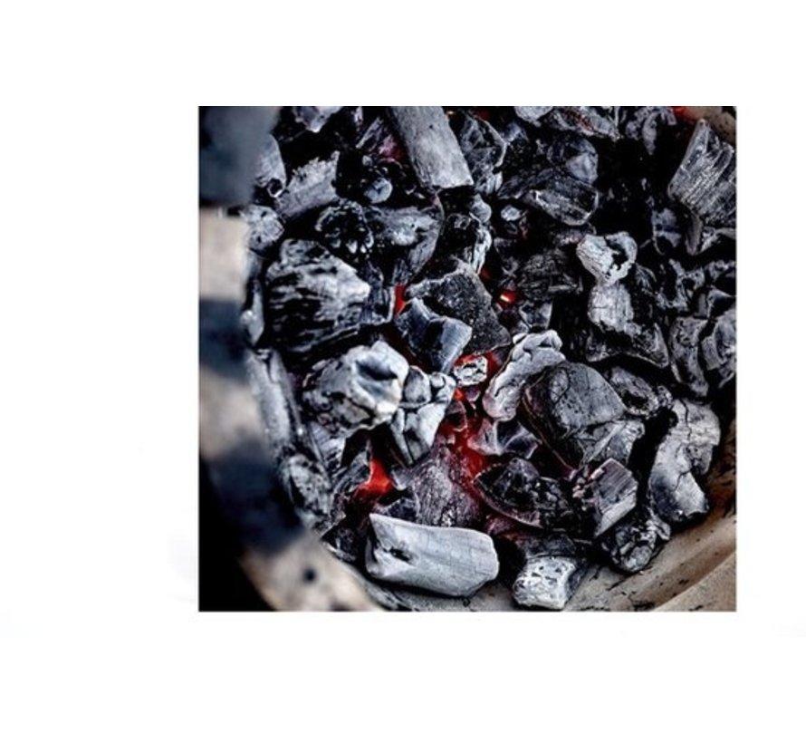 Luxe BBQ Voordeel set | Houtskoolbrander - bbq - Barbecue - Gun - Starter -aanmaakblokjes 28 stuks