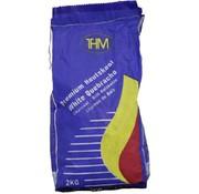 THM Premium kwaliteitshoutskool White Quebracho| 2Kilo| White Quebracho| 1 Stuks - Houtskool - BBQ - Zomer