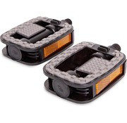 Merkloos Bicycle pedals right and left - Anti-Slip Pedals | Bicycle Pedal | Set | Bicycle pedals | pedal -